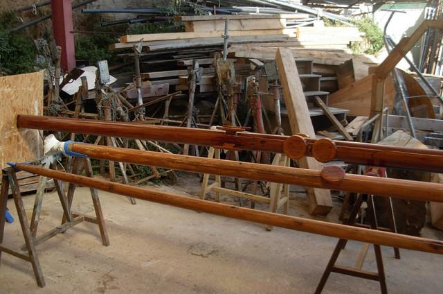 Construction d'un mât