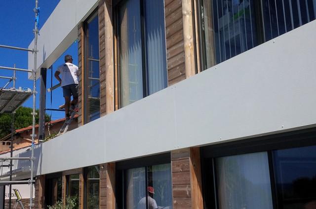 Création d'espaces extérieurs de maison